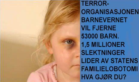 terror og barnevern